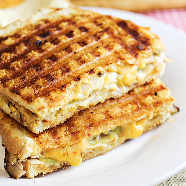 Spicy Southwestern Turkey Panini Recipe