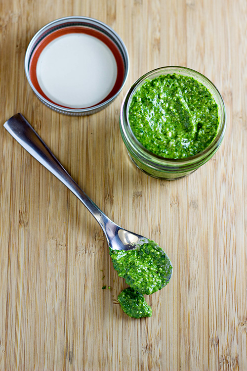 Spinach Pesto Sauce