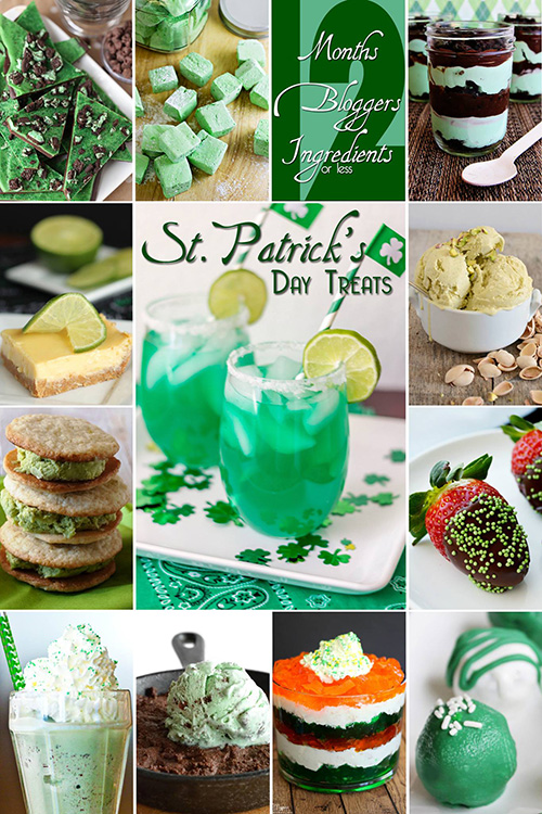 St Patrick's Day Treats #12Bloggers