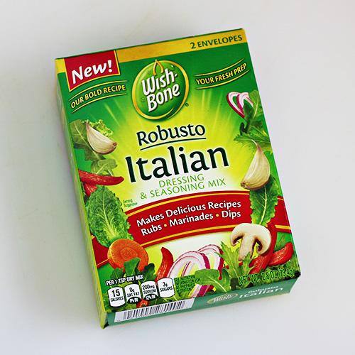 Wishbone Robusto Italian Dressing and Seasoning Mix