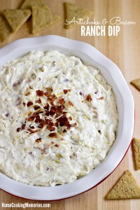 Artichoke and Bacon Ranch Dip Recipe