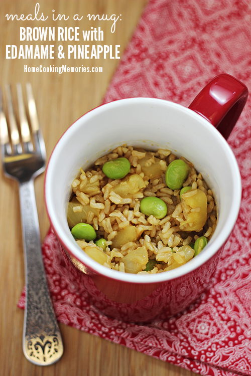 Brown Rice with Edamame and Pineapple 7
