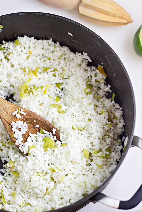 Hatch Chile Rice -2