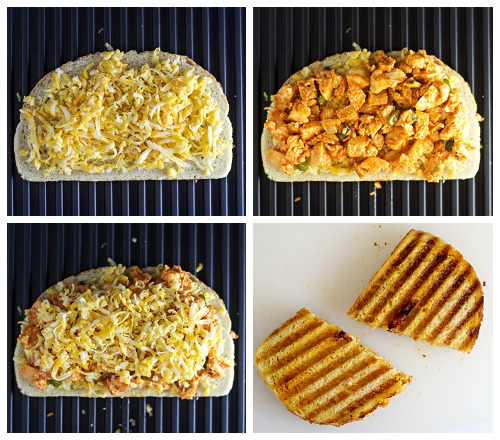 How to Make a Buffalo Chicken Panini