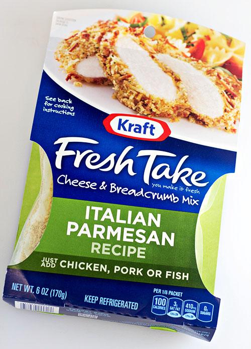 Kraft Fresh Take Italian Parmesan -1