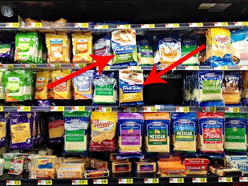 Kraft Fresh Take at Walmart