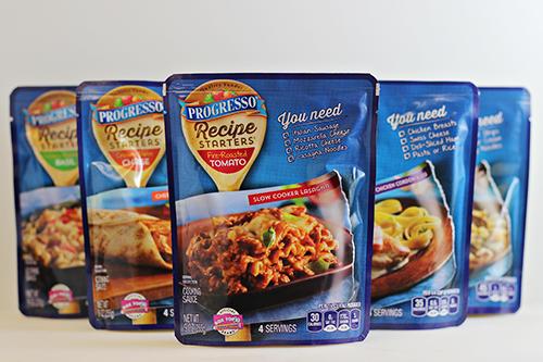 One-Pan Cheesy Salsa Pasta - Progresso Recipe Starters
