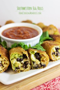 Easy Southwestern Egg Rolls Recipe