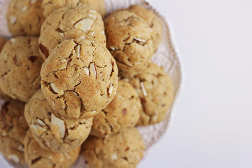 Whole Wheat Granola Cookies 3