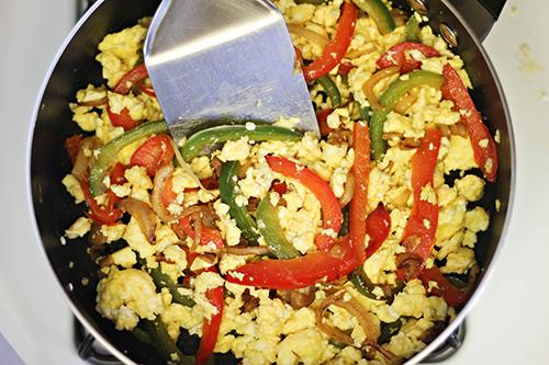 Breakfast Fajita Pitas