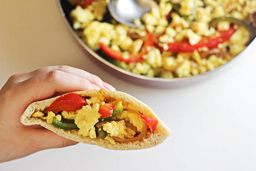 Breakfast Fajita Pitas 2