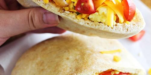 Easy Breakfast Fajita Pitas