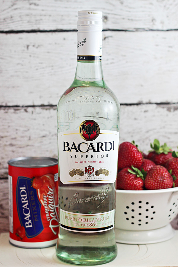 Summer Cocktail Recipe: Basil Berry Daiquiri with Bacardi Rum