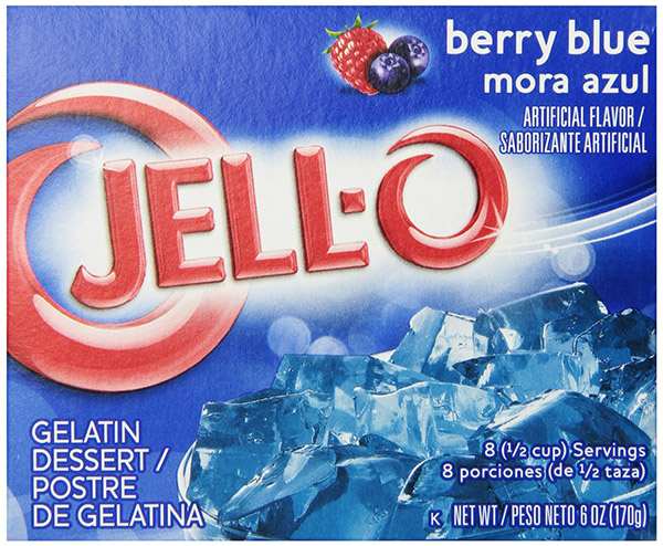 Berry Blue JELL-O