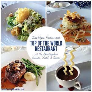 Las Vegas Restaurant: Top of the World at the Stratosphere