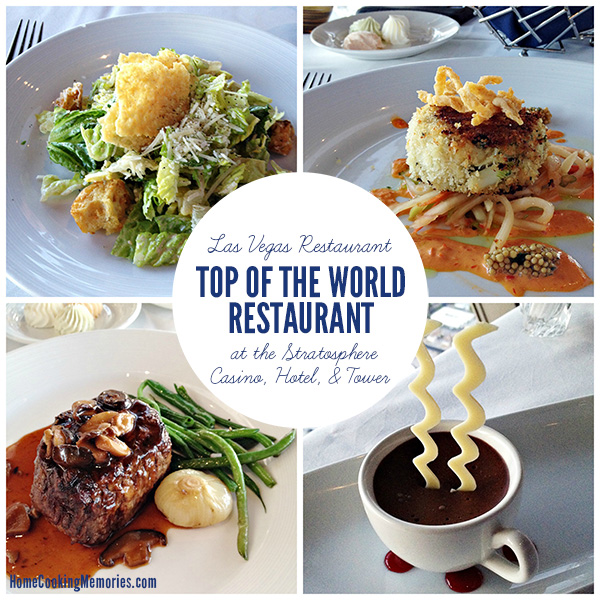 Las Vegas Restaurant: Top of the World Restaurant at the Stratosphere Casino, Hotel, and Tower