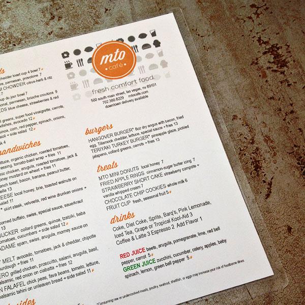 Downtown Las Vegas Restaurant: MTO Cafe