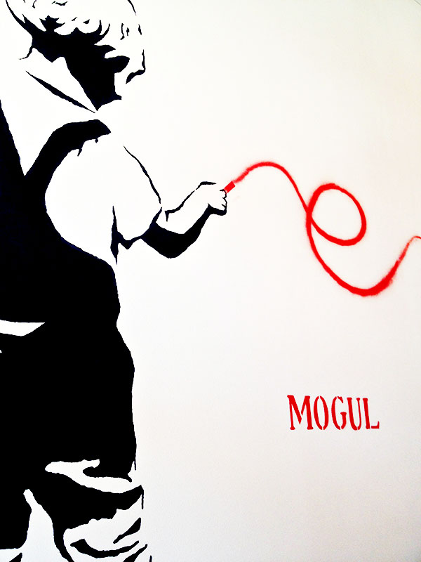 MOGUL Art at Downtown Las Vegas Restaurant: MTO Cafe