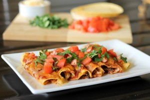 Quick and Healthy Chicken Enchiladas Recipe