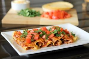 Quick and Healthy Chicken Enchiladas Recipe