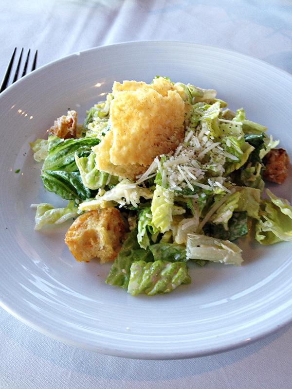 Top of the World Restaurant - Caesar Salad