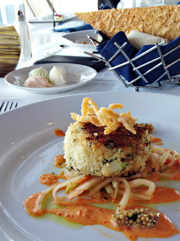 Top of the World Restaurant - Crab Cake
