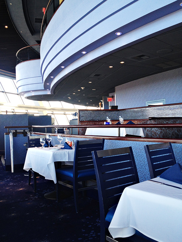 Top of the World Restaurant - Seating