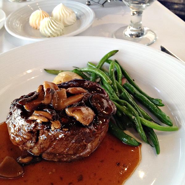Top of the World Restaurant - Steak
