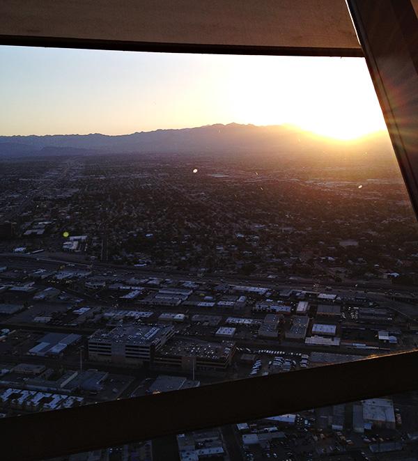 Top of the World Restaurant - Sunset