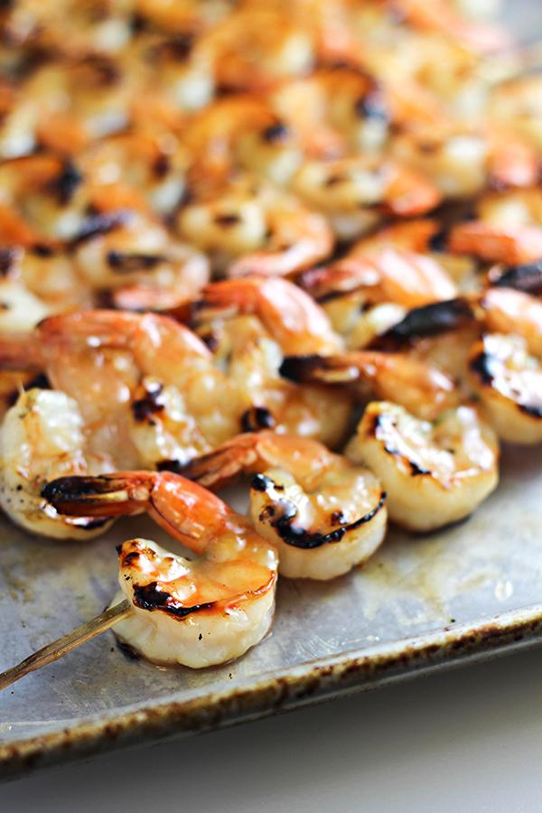 Coconut-Rum Shrimp