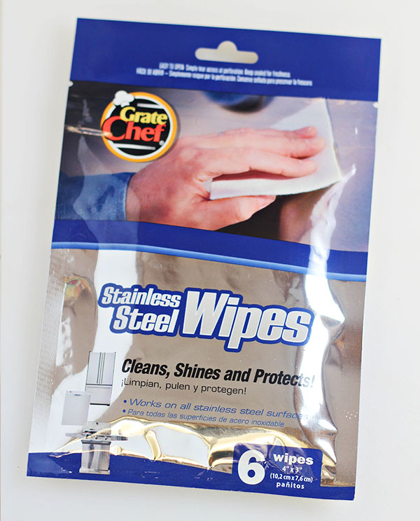 Stainless Steel Wipes by Grate Chef for the Everyday Backyard Griller