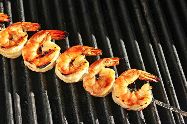 Grilling Shrimp