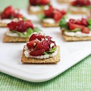 Strawberry-Ricotta Bites