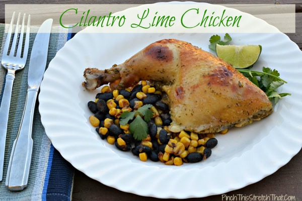 Cilantro Lime Chicken by Mom's Lifeboat
