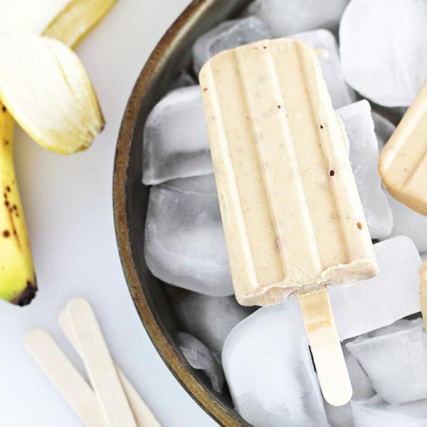 Peanut Butter & Banana Yogurt Pops Recipe