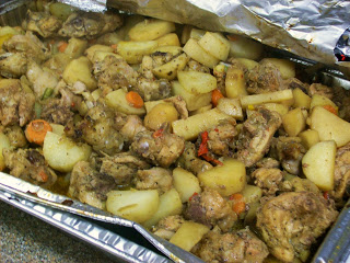 Marlene's Jamaican Brown Stew Potatoes And Chicken by What Smells So Good?