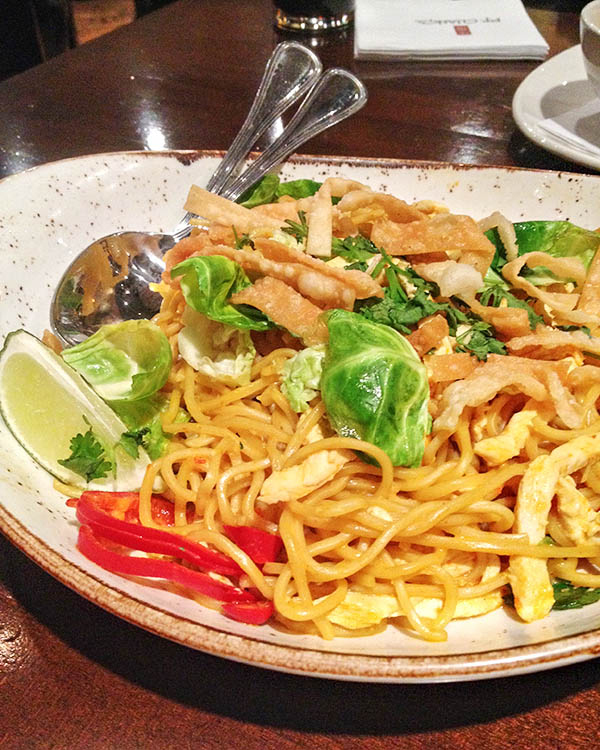 PF Changs - Chiang Mai Curry Noodles with Chicken