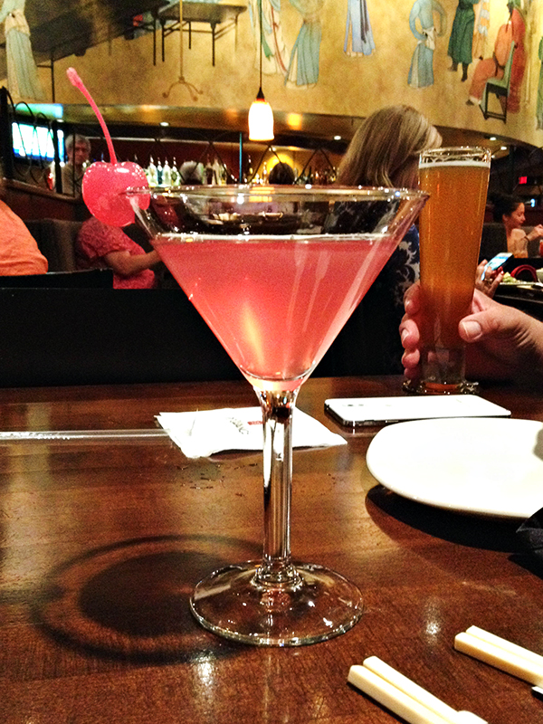 PF Changs - Pink Cherry Cosmo