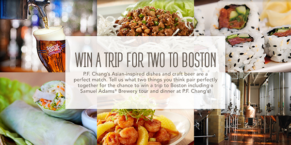 Win a Foodie Trip to Boston from PF Changs 2