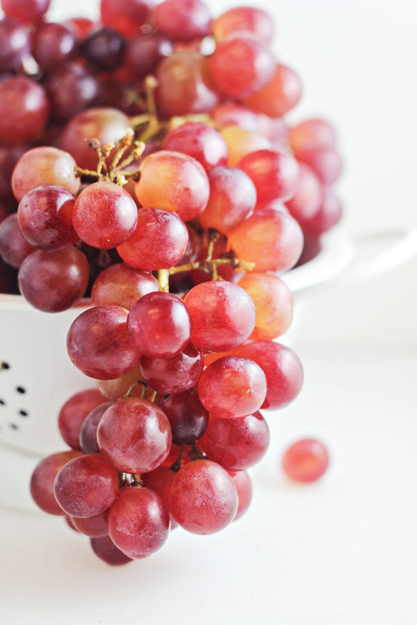 Red Grapes from #WalmartProduce Department (for Grape Crostini with Blue Cheese Spread recipe)