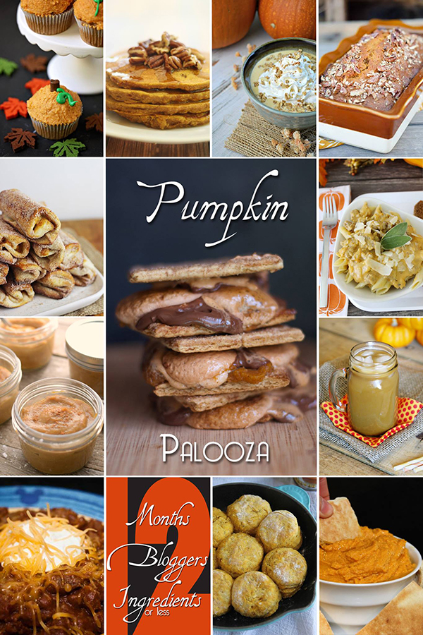 12 Bloggers - Pumpkin Recipes