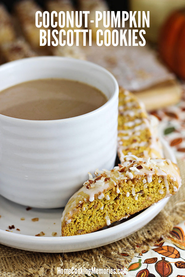 Coconut-Pumpkin Biscotti Recipe
