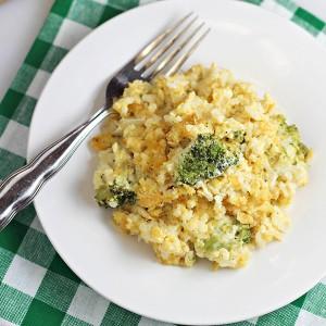 Easy Broccoli Rice Casserole Recipe
