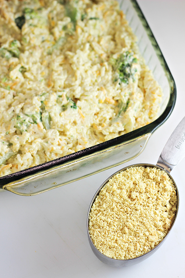Easy Broccoli Rice Casserole Recipe - Home Cooking Memories-6796