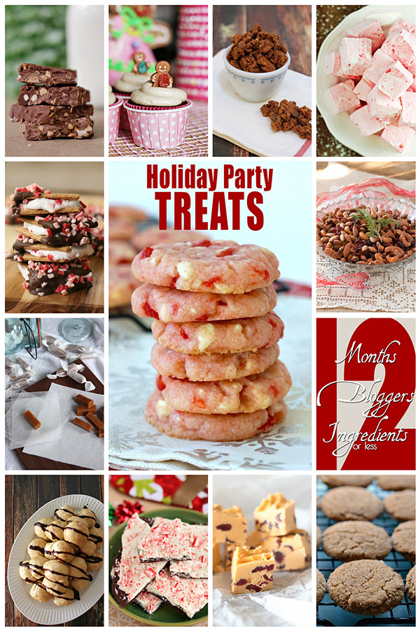 12Bloggers - December 2014 - Holiday Party Treats -600