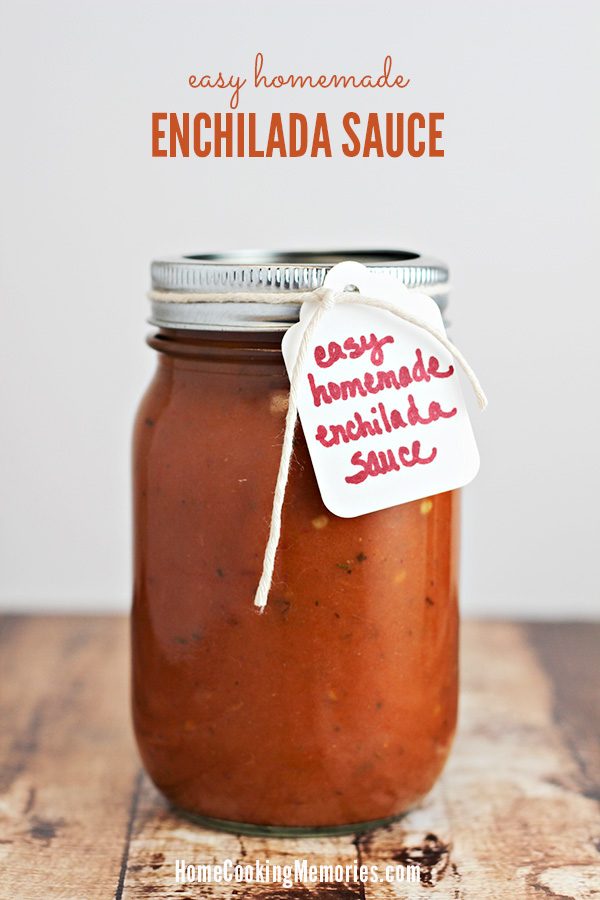 Easy Homemade Enchilada Sauce Recipe 5