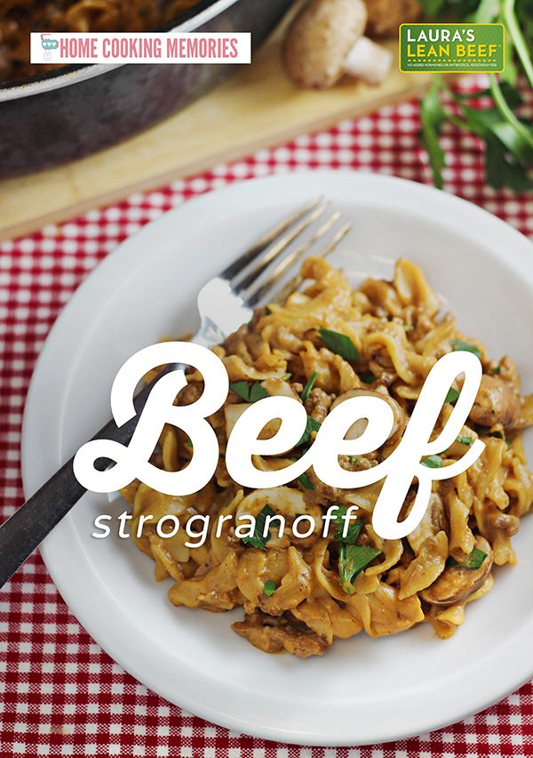 Want to feed your family a delicious homemade dinner, but need to get out of the kitchen fast? This Easy One-Pan Beef Stroganoff recipe is your answer.