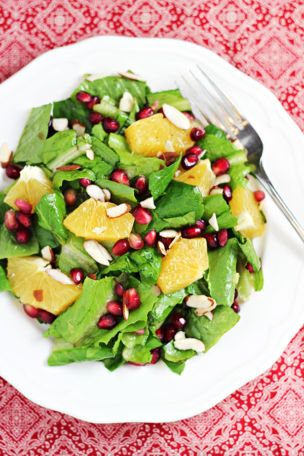 Orange and Pomegranate Salad Recipe