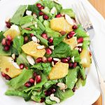 Orange and Pomegranate Salad Recipe with Balsamic Dressing