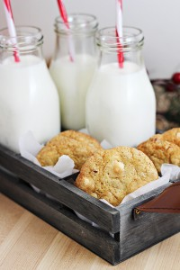 White Chocolate-Ginger Drop Cookies Recipe